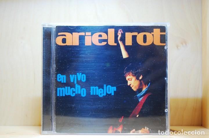 ARIEL ROT - EN VIVO MUCHO MEJOR - CD - (Música - CD's Rock)