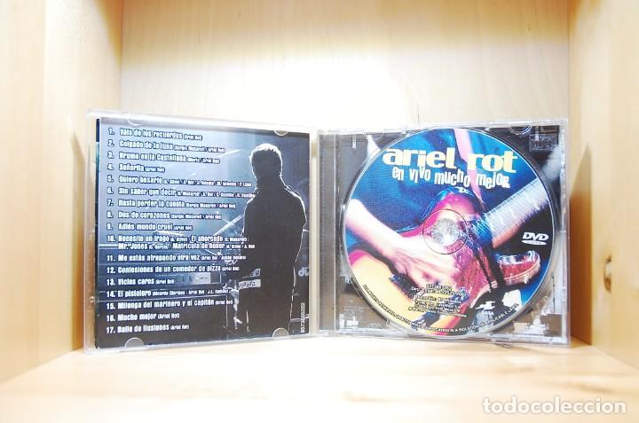 CDs de Música: ARIEL ROT - EN VIVO MUCHO MEJOR - CD - - Foto 3 - 234785880