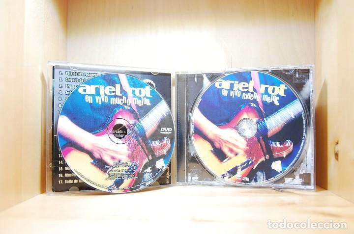 CDs de Música: ARIEL ROT - EN VIVO MUCHO MEJOR - CD - - Foto 4 - 234785880
