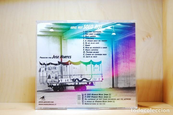 CDs de Música: ARIEL ROT - SOLO ROT - CD - - Foto 2 - 234785890