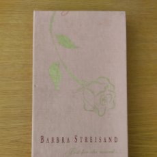 CDs de Música: BARBRA STREISAND BOX SET 4 CDS JUST FOR THE RECORD. Lote 234820735