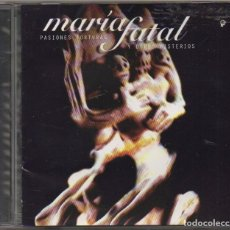 CDs de Música: MARIA FATAL - PASIONES, TORTURAS Y OTROS MISTERIOS / CD ALBUM 1997 / MUY BUEN ESTADO RF-8887. Lote 234868345