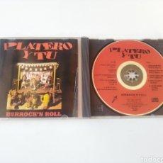 CDs de Música: PLATERO Y TU CD BURROCK'N ROLL 1992 ORIGINAL RARO FITO Y FITIPALDIS EXTREMODURO. Lote 234870735