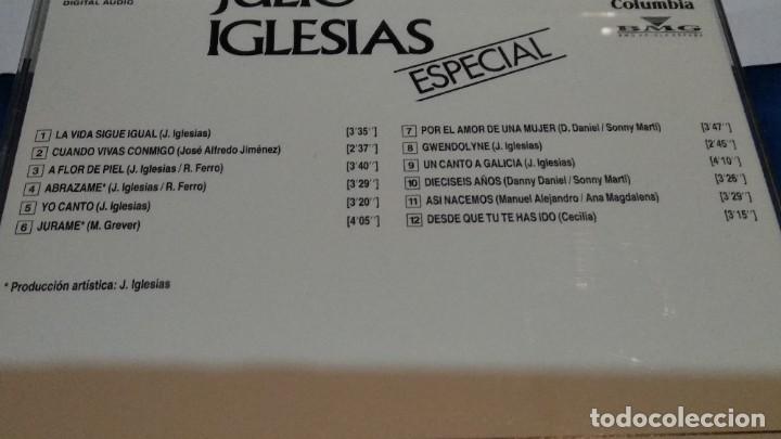 CDs de Música: CD ( JULIO IGLESIAS - ESPECIAL ) 1990 COLUMBIA - SALVAT Nº 24 - Latin, Pop - NUEVO - Foto 3 - 234901830