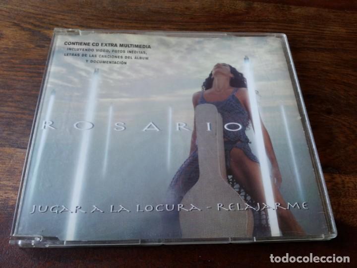 ROSARIO - JUGAR A LA LOCURA - CD SINGLE 2 TEMAS - SONY 1999 (Música - CD's Pop)