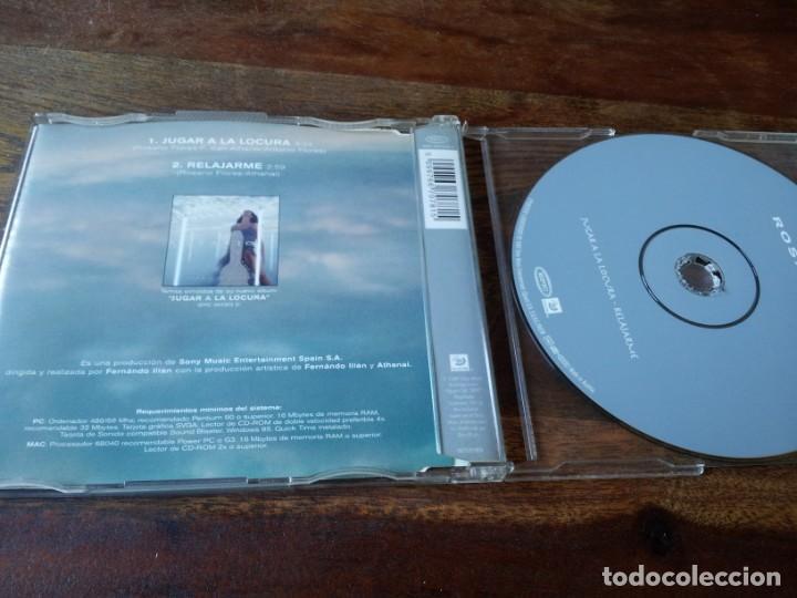 CDs de Música: rosario - jugar a la locura - cd single 2 temas - sony 1999 - Foto 3 - 234902355