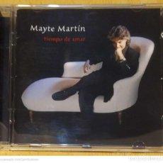 CDs de Música: MAYTE MARTIN (TIEMPO DE AMAR) CD 2003. Lote 234902445