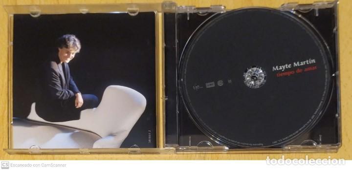 CDs de Música: MAYTE MARTIN (TIEMPO DE AMAR) CD 2003 - Foto 3 - 234902445