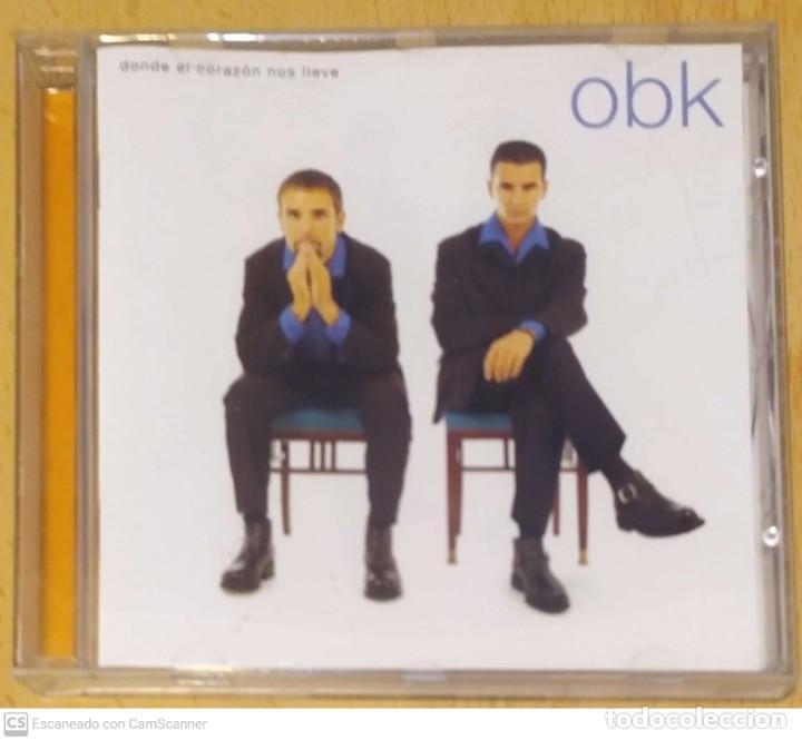 OBK (DONDE EL CORAZON NOS LLEVE) CD 1996 (Música - CD's Pop)
