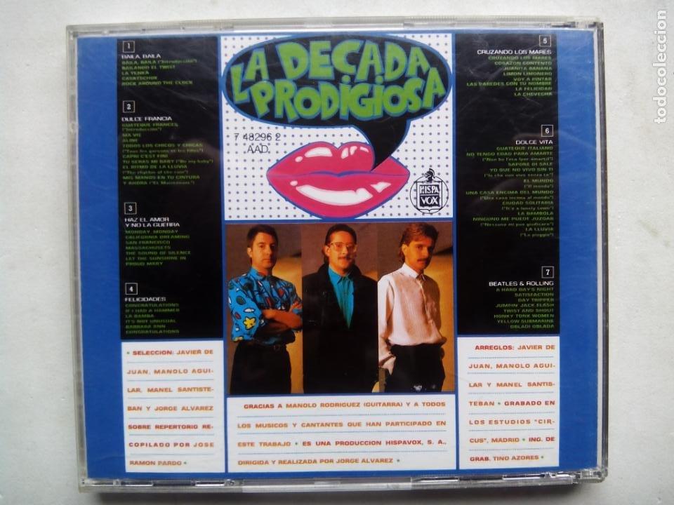 CDs de Música: LA DÉCADA PRODIGIOSA 2. CD HISPAVOX 7 48296 2. ESPAÑA 1987. LA DÉCADA PRODIGIOSA II. - Foto 3 - 234905185
