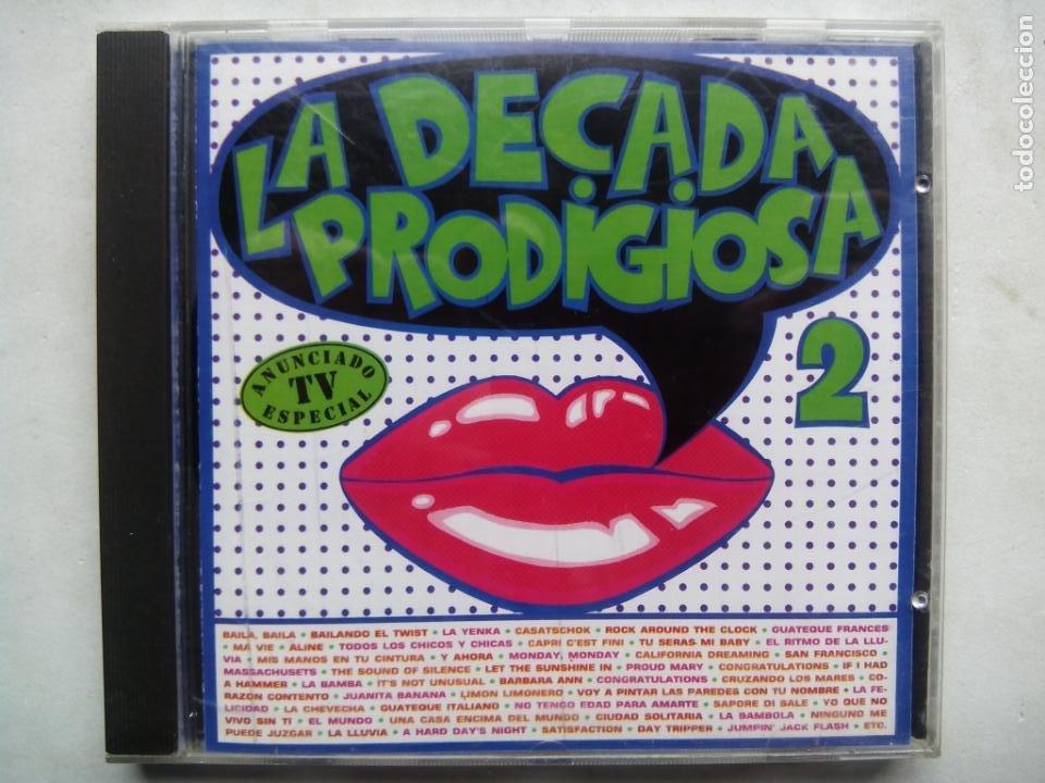LA DÉCADA PRODIGIOSA 2. CD HISPAVOX 7 48296 2. ESPAÑA 1987. LA DÉCADA PRODIGIOSA II. (Música - CD's Pop)