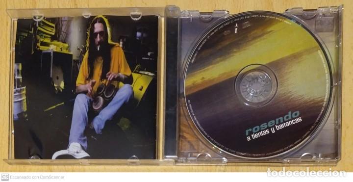CDs de Música: ROSENDO (A TIENTAS Y BARRANCAS) CD 1998 - Foto 3 - 234905310