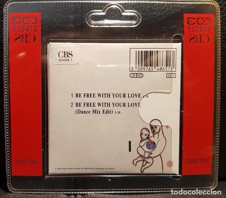 CDs de Música: SPANDAU BALLET - BE FREE WITH YOUR LOVE - CD SINGLE 3 PULGADAS - REINO UNIDO - RARO - NO USO CORREOS - Foto 2 - 234906450