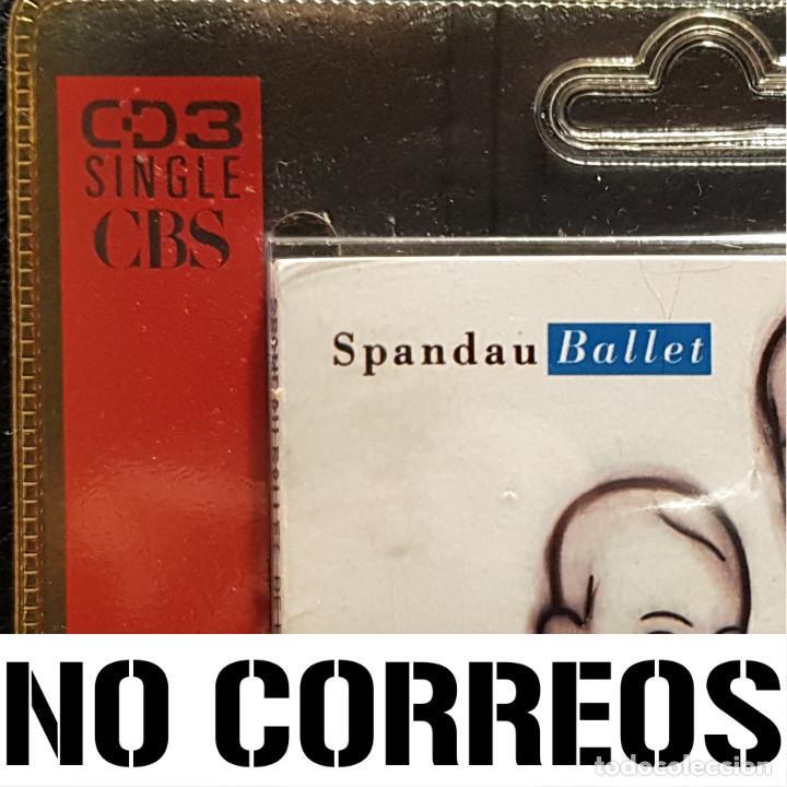 CDs de Música: SPANDAU BALLET - BE FREE WITH YOUR LOVE - CD SINGLE 3 PULGADAS - REINO UNIDO - RARO - NO USO CORREOS - Foto 5 - 234906450