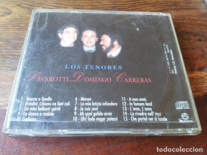 CDs de Música: los tenores - Pavarotti, Domingo, Carreras - cd lp 15 temas - alfa delta 1995 matutano - Foto 2 - 234906700