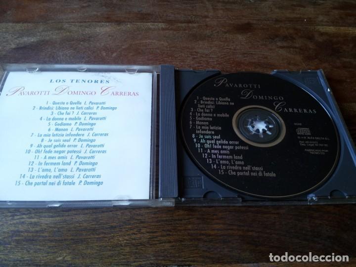 CDs de Música: los tenores - Pavarotti, Domingo, Carreras - cd lp 15 temas - alfa delta 1995 matutano - Foto 3 - 234906700