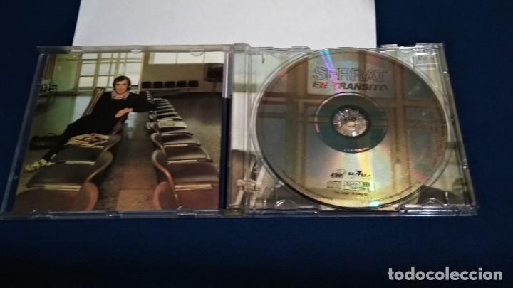 CDs de Música: CD (SERRAT - EN TRANSITO - Hoy Puede Ser Un Gran Día) 2000 BMG AROLA - SIN USO - Foto 3 - 234907410