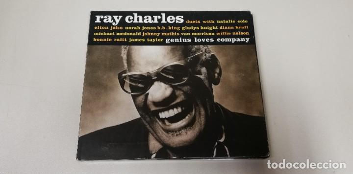 CDs de Música: C4- RAY CHARLES GENIUS LOVES COMPANY -CD - Foto 1 - 234907750