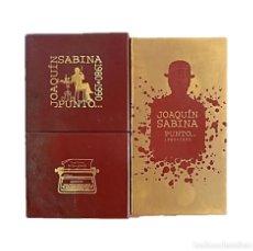 CDs de Música: CAJA ROJA JOAQUÍN SABINA (1980/1990) VOLUMEN I. Lote 234925050
