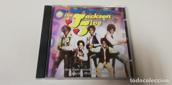 C4- THE JACKSON 5 THE STEEL TOWN SESSIONS - CD (Música - CD's Otros Estilos)