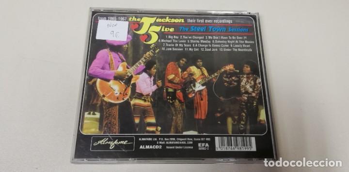 CDs de Música: C4- THE JACKSON 5 THE STEEL TOWN SESSIONS - CD - Foto 2 - 234928595