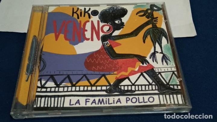 CD ( KIKO VENENO - LA FAMILIA POLLO ) 2000 RCA - POCO USO (Música - CD's Pop)