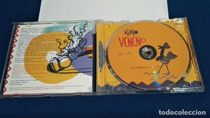 CDs de Música: CD ( KIKO VENENO - LA FAMILIA POLLO ) 2000 RCA - POCO USO - Foto 3 - 234928895