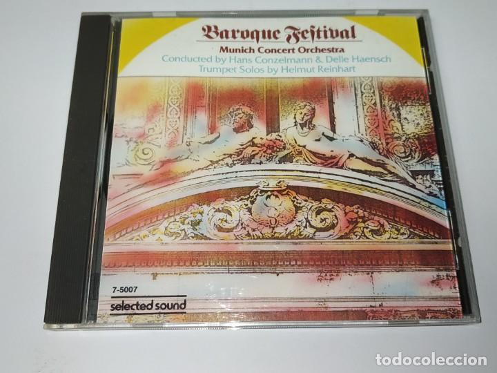 0121- MUNICH CONCERT ORCHESTRA BAROQUE FESTIVAL CD ( DISCO ESTADO NUEVO) (Música - CD's Otros Estilos)