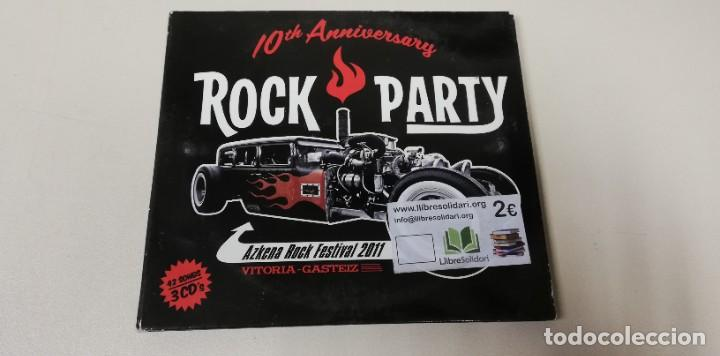 C4- ROCK PARTY ARF 10TH ANNIVESARY 3CDS - CD (Música - CD's Otros Estilos)