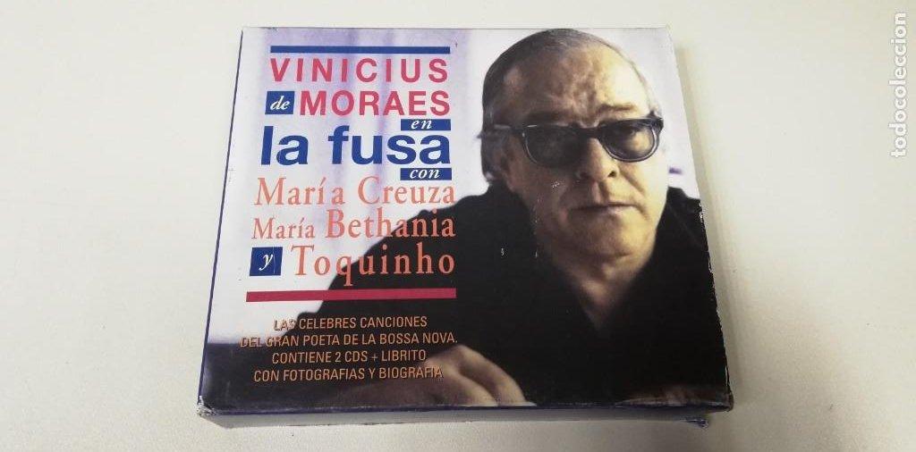 C4- VINICIUS DE MORAES ENLA FUSA 2CDS - CD (Música - CD's Otros Estilos)