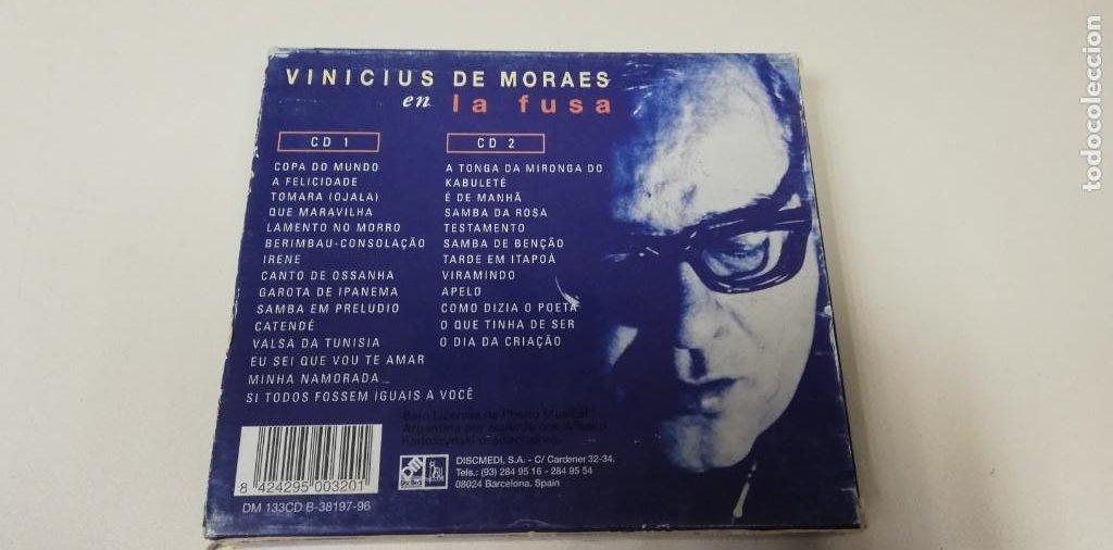 CDs de Música: C4- VINICIUS DE MORAES ENLA FUSA 2CDS - CD - Foto 2 - 234931645