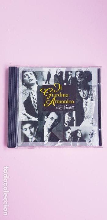 CDs de Música: CD-IL GIARDINO ARMÓNICO PLAY VIVALDI-EXCELENTE-COLECCIONISTAS-VER FOTOGRAFÍAS. - Foto 2 - 234936855