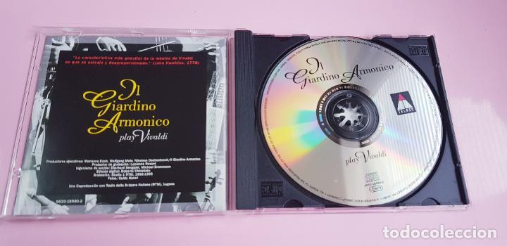 CDs de Música: CD-IL GIARDINO ARMÓNICO PLAY VIVALDI-EXCELENTE-COLECCIONISTAS-VER FOTOGRAFÍAS. - Foto 6 - 234936855