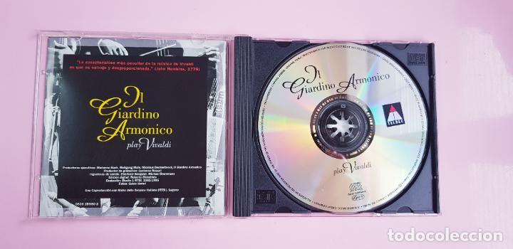 CDs de Música: CD-IL GIARDINO ARMÓNICO PLAY VIVALDI-EXCELENTE-COLECCIONISTAS-VER FOTOGRAFÍAS. - Foto 7 - 234936855