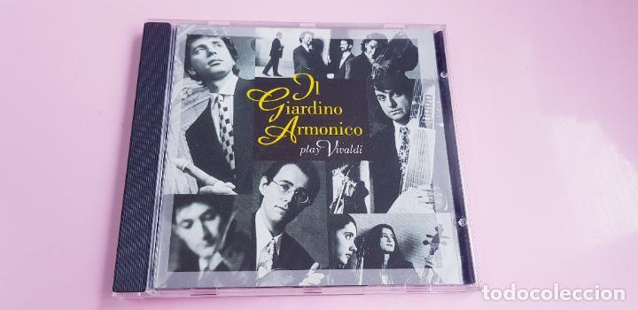 CD-IL GIARDINO ARMÓNICO PLAY VIVALDI-EXCELENTE-COLECCIONISTAS-VER FOTOGRAFÍAS. (Música - CD's Clásica, Ópera, Zarzuela y Marchas)