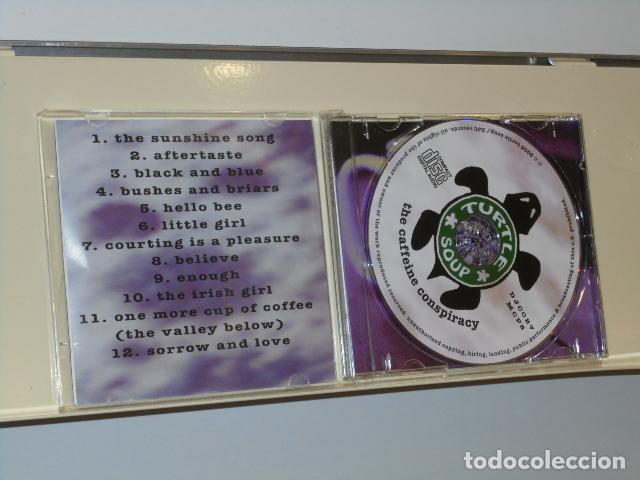CDs de Música: TURTLE SOUP THE CAFFEINE CONSPIRACY - DJC RECORDS AUDIO CD 2005 - Foto 3 - 234936975