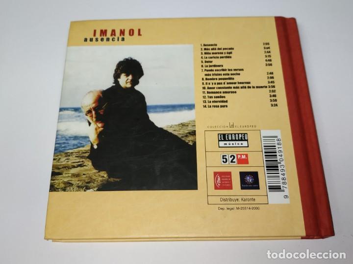 CDs de Música: 0121- IMANOL AUSENCIA CD ( DISCO ESTADO NUEVO) - Foto 2 - 234937095