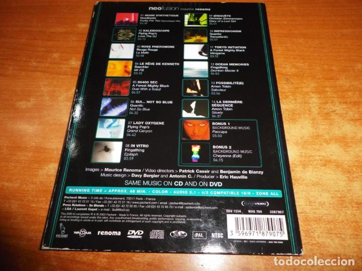CDs de Música: MAURICE RENOMA Neofusion CD + DVD DIGIPACK DEL AÑO 2003 CONTIENE 16 TEMAS - Foto 4 - 234938080