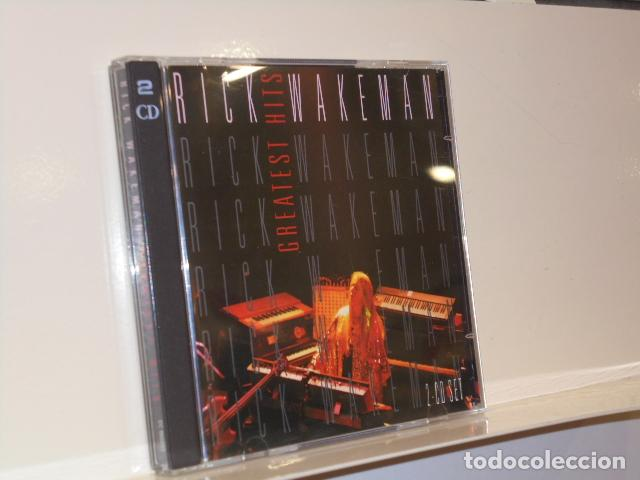 RICK WAKEMAN GREATEST HITS 2 CD - DISKY 1996 CD AUDIO (Música - CD's Otros Estilos)