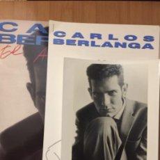 CDs de Música: CARLOS BERLANGA. EL ANGEL EXTERMINADOR. (VINILO LP + HOJAS + FOTO 1990). Lote 234955545
