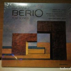 CD de Música: LUCIANO BERIO, FOLK SONGS. Lote 234997090