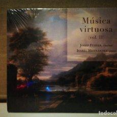 CDs de Música: JOSEP FUSTER, MUSICA VIRTUOSA VOL. II. Lote 234998140