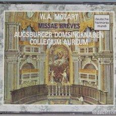 CDs de Música: 2 CD. MISSAE BREVES. MOZART. Lote 235085735