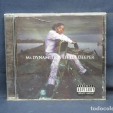 CD de Música: MS. DYNAMITE - A LITTLE DEEPER - CD. Lote 235107680