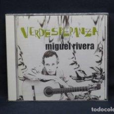 CDs de Música: MIGUEL RIVERA - VERDESPERANZA - CD. Lote 235121930