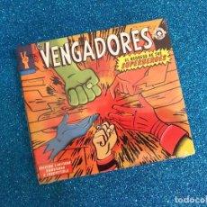 CDs de Música: LOS VENGADORES – EL REGRESO DE TUS SUPERHEROES. ALASKA. ANA CURRA. ED. NUMERADA Y LIMITADA. NUEVO. Lote 235127145