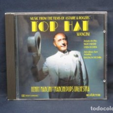 CDs de Música: HENRY MANCINI AND THE MANCINI POPS ORCHESTRA - TOP HAT: MUSIC FROM THE FILMS OF ASTAIRE & ROGERS -. Lote 235128215