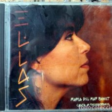 CDs de Música: EL-LAS. MARÍA DEL MAR BONET CANTA M. THEODORAKIS. ARIOLA 1993. Lote 235132825