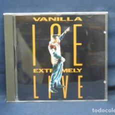 CDs de Música: VANILLA ICE - EXTREMELY LIVE - CD. Lote 235139290