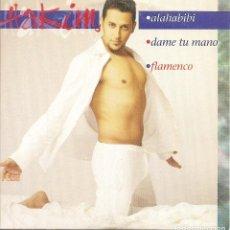 CDs de Música: HAKIM - ALAHABIBI / DAME TU MANO / FLAMENCO (CDSINGLE CARTON, SENADOR 2004). Lote 235143210